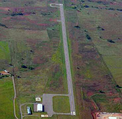 Aerial photo of 93F (Mignon Laird Municipal Airport)