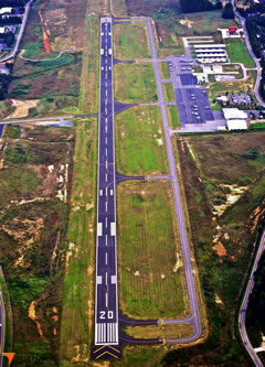 Aerial photo of KUZA (Rock Hill (York Co) Airport-Bryant Field)