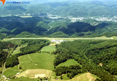 Aerial photo of KJFZ (Tazewell County Airport)