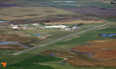 Aerial photo of KBTN (Britton Municipal Airport)