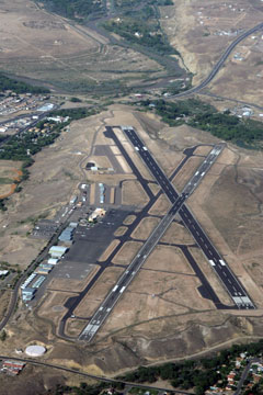 Aerial photo of KFMN (Four Corners Regional Airport)