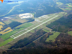 Aerial photo of KAFP (Anson County Airport - Jeff Cloud Field)