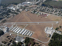 Aerial photo of X21 (Arthur Dunn Air Park)