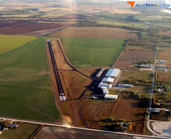 Aerial photo of KCOM (Coleman Municipal Airport)