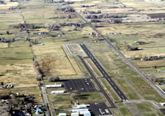Aerial photo of S40 (Prosser Airport)