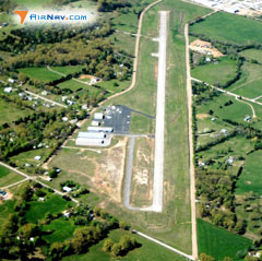Aerial photo of KFLP (Marion County Regional Airport)