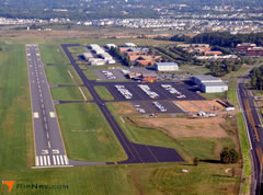 Aerial photo of KJYO (Leesburg Executive Airport)