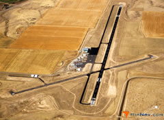 Aerial photo of KDLN (Dillon Airport)