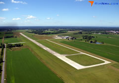 Aerial photo of KDMO (Sedalia Regional Airport)