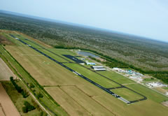 Aerial photo of KAPS (Port of South Louisiana Executive Regional Airport)