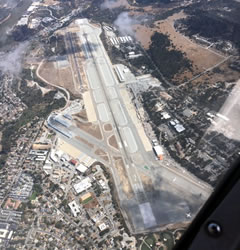 Aerial photo of KMRY (Monterey Regional Airport)