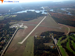 Aerial photo of KISW (Alexander Field South Wood County Airport)