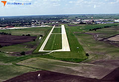 Aerial photo of KBNW (Boone Municipal Airport)
