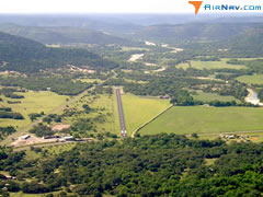 Aerial photo of 49R (Real County Airport)