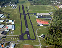 Aerial photo of I69 (Clermont County Airport)