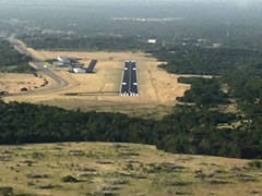 Aerial photo of KLZZ (Lampasas Airport)