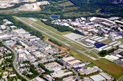 Aerial photo of KGAI (Montgomery County Airpark)