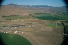 Aerial photo of KLLJ (Challis Airport)