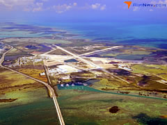 Aerial photo of KNQX (Key West Naval Air Station (Boca Chica Field))