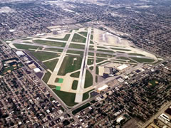 Aerial photo of KMDW (Chicago Midway International Airport)