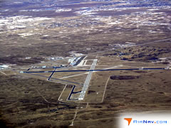 Aerial photo of KHOB (Lea County Regional Airport)