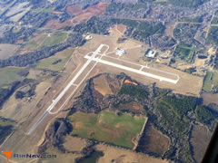Aerial photo of KGZH (Evergreen Regional Airport/Middleton Field)