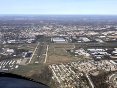 Aerial photo of KPNE (Northeast Philadelphia Airport)