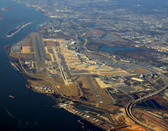Aerial photo of KPHL (Philadelphia International Airport)