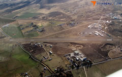 Aerial photo of KSVE (Susanville Municipal Airport)