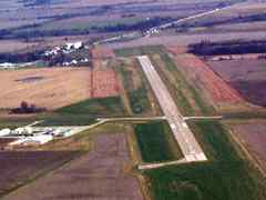 Aerial photo of KMYJ (Mexico Memorial Airport)