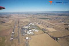 Aerial photo of KEUG (Mahlon Sweet Field Airport)