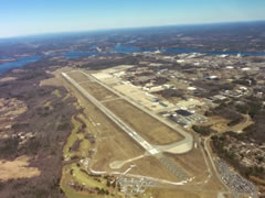 Aerial photo of KPSM (Portsmouth International Airport at Pease)