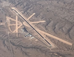 Aerial photo of KTCS (Truth or Consequences Municipal Airport)