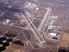 Aerial photo of KPMD (Palmdale USAF Plant 42 Airport)