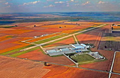 Aerial photo of KPCD (Perryville Regional Airport)