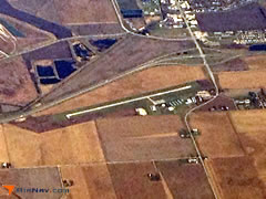 Aerial photo of KRPJ (Rochelle Municipal Airport-Koritz Field)