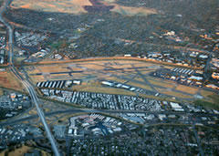 Aerial photo of KCCR (Buchanan Field Airport)