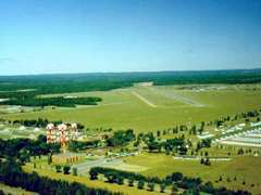 Aerial photo of KRYM (Ray S Miller Army Airfield)