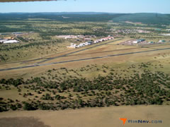 Aerial photo of KSOW (Show Low Regional Airport)