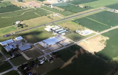Aerial photo of C03 (Nappanee Municipal Airport)