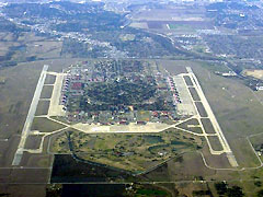 Aerial photo of KRND (Randolph Air Force Base)