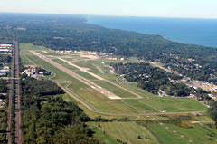 Aerial photo of KERI (Erie International Airport/Tom Ridge Field)