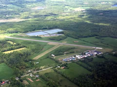 Aerial photo of 1B0 (Dexter Regional Airport)