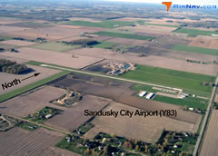 Aerial photo of Y83 (Sandusky City Airport)