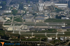 Aerial photo of KCMH (John Glenn Columbus International Airport)