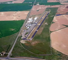 Aerial photo of KJER (Jerome County Airport)