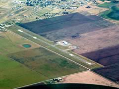 Aerial photo of T45 (Panhandle-Carson County Airport)