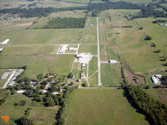 Aerial photo of 2K9 (Haskell Airport)