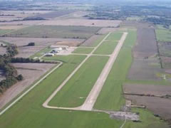 Aerial photo of KIRK (Kirksville Regional Airport)