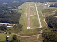 Aerial photo of KGKJ (Port Meadville Airport)